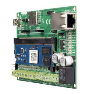 Modulo IP 10/100 M-VIP ad Innesto per Controllo Remoto e Videoverifica e Acquisizione IP Camera ONVIF