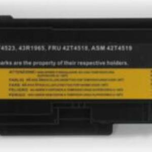 Batteria compatibile. 6 celle – 10.8 / 11.1 V – 3600 mAh – 40 Wh – colore NERO – peso 320 grammi circa – dimensioni MAGGIORATE.